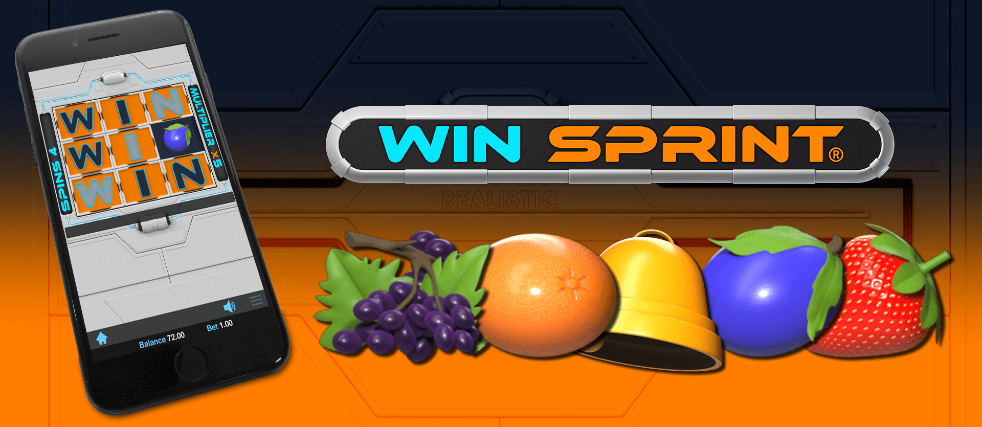 New Win Sprint Slot From Realistic Games